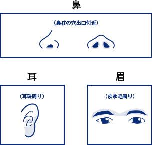ゴリラクリニック「耳・鼻・まゆ脱毛」
